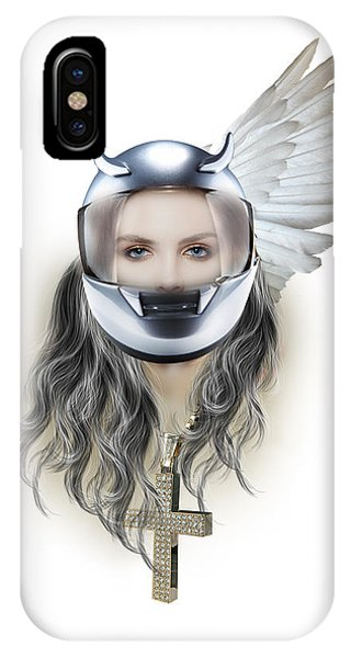 Harley Davidson Woman IPhone Case