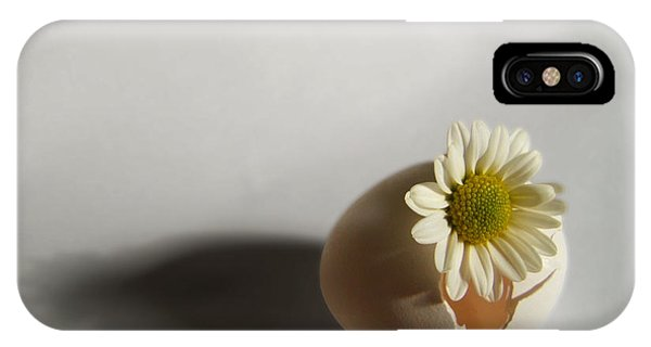 Hatching Flower Photograph IPhone Case