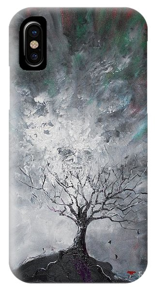 Haunted Tree IPhone Case