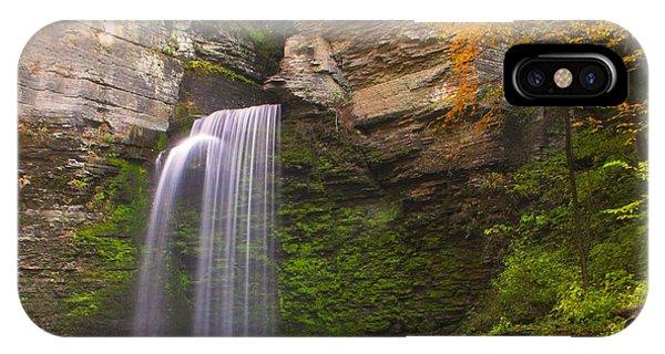Havana Glen Waterfall IPhone Case
