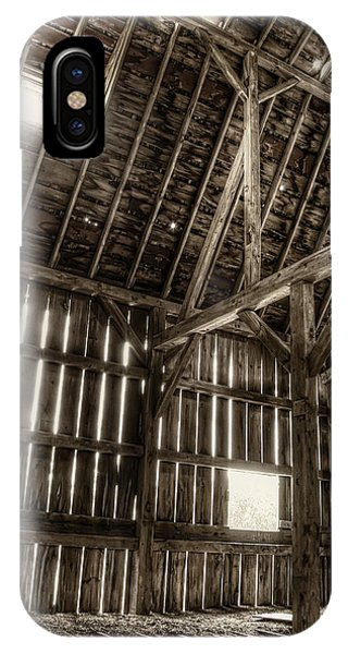 Old Building iPhone Case - Hay Loft by Scott Norris