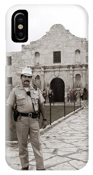 He Guards The Alamo IPhone Case