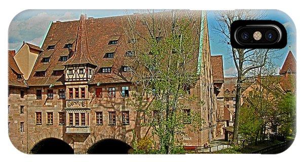 Heilig-geist-spital In Nuremberg IPhone Case