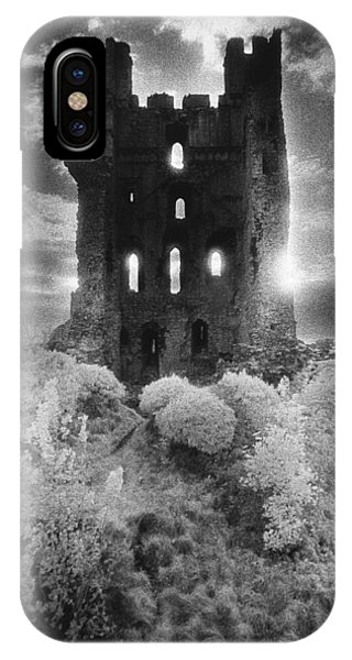 Dungeon iPhone Case - Helmsley Castle by Simon Marsden