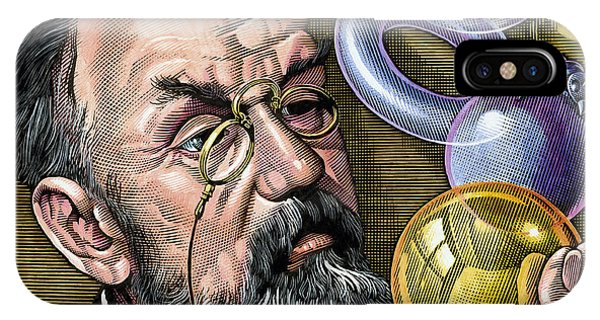 Henri Poincare, French Mathematician Phone Case by Bill Sanderson