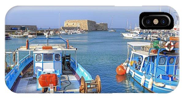 Greece iPhone Case - Heraklion - Venetian Fortress - Crete by Joana Kruse