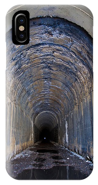 IPhone Case featuring the photograph Hidden Tunnel by Fran Riley