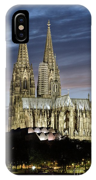 High Cathedral Of Sts. Peter And Mary In Cologne IPhone Case