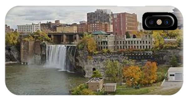 High Falls Panorama IPhone Case