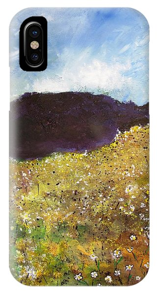 High Field Of Flowers IPhone Case