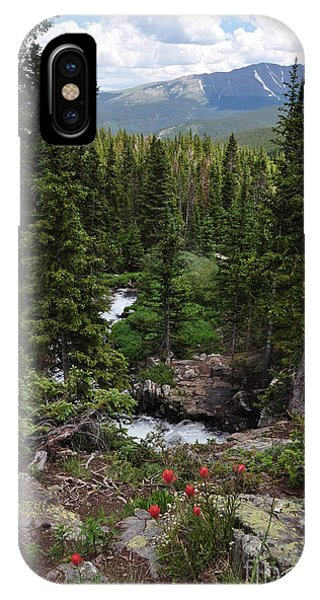 Hiking In Colorado IPhone Case