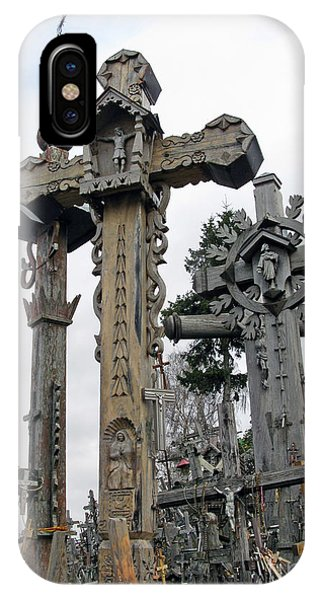 Hill Of Crosses 09. Lithuania IPhone Case