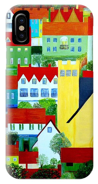 Hillside Village IPhone Case