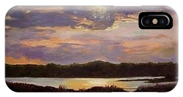 Hilton Head Sunset IPhone Case