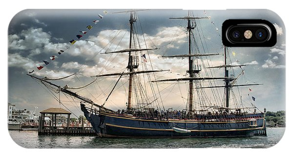 Hms Bounty Newport IPhone Case