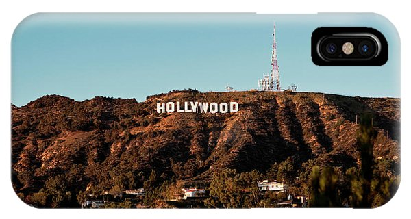 Hollywood Sign At Sunset IPhone Case