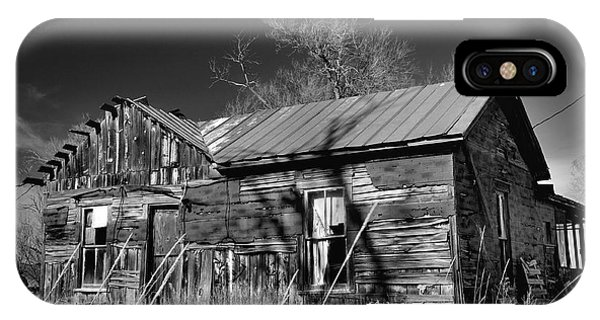 IPhone Case featuring the photograph Homestead by Ron Cline