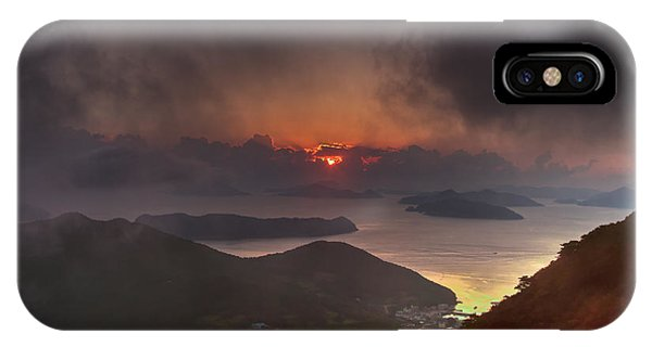 Hongpo Sunset South Korea  IPhone Case
