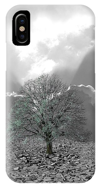 Desolation iPhone Case - Hope Against Despai by Angel Jesus De la Fuente