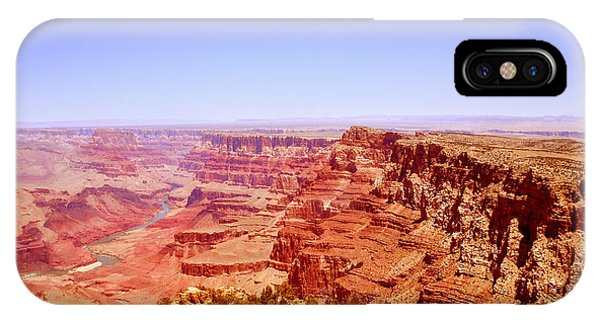 horizon in Grand Canyon IPhone Case