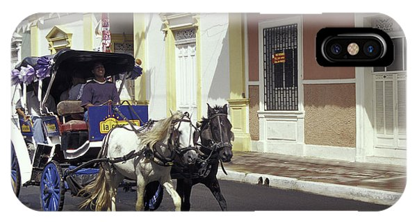 Horse And Carriage Granada Nicaragua Phone Case by John  Mitchell