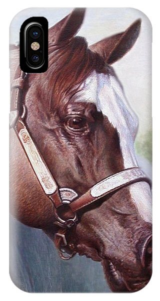Horse Portrait 2 IPhone Case