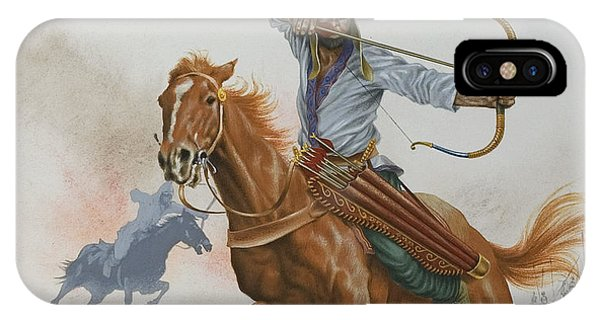 Horseman iPhone Case - Horsemen From The Steppes by English School