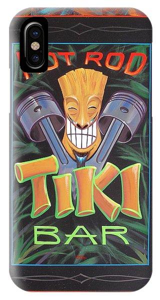Hot Rod Tiki Bar IPhone Case