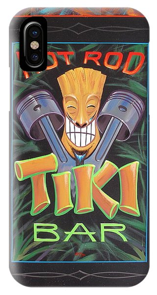 Hot Rod Tiki Bar IPhone Case