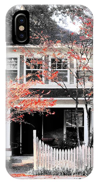 House In Cooper Young IPhone Case