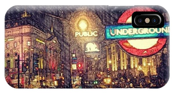 London iPhone Case - How London Looks Like At Night? May by Abdelrahman Alawwad