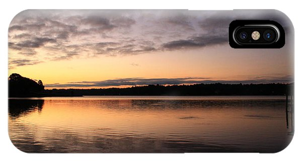 Hungry Fish At Sunrise IPhone Case