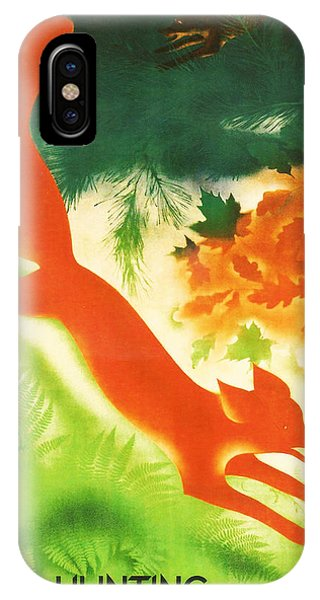 Hunting In The Ussr IPhone Case