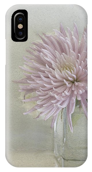 Hydrangea And Mum IPhone Case