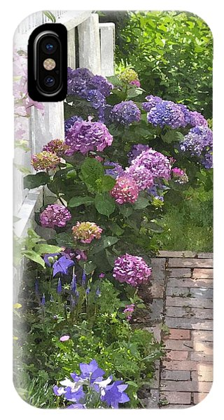 Hydrangeas  Hwc IPhone Case