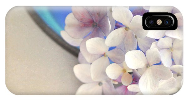 Hydrangeas In Blue Bowl IPhone Case