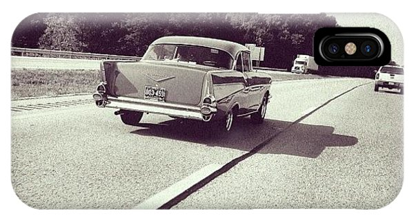 Travel iPhone Case - I <3 Vintage Cars! It's Great To See by Amber Flowers
