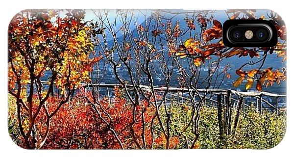 Beautiful Landscape iPhone Case - I Colori Dell'autunno - The Colors Of by Luisa Azzolini