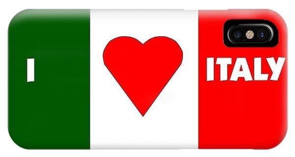 I Love Italy Phone Case by Florene Welebny