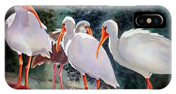 Ibis - Youngster Among Us. IPhone Case