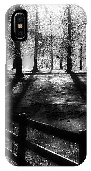 Icy Morning IPhone Case
