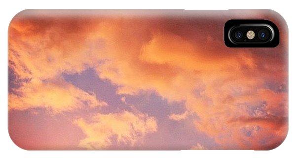Beautiful Landscape iPhone Case - Il Cielo Dopo La Tempesta. The Sky by Luisa Azzolini