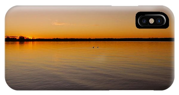 Sonne iPhone Case - Ile-bizard - Quebec by Juergen Weiss