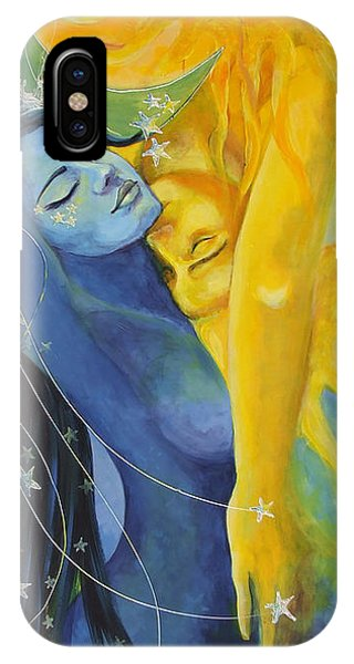 Figurative iPhone Case - Ilusion From Impossible Love Series by Dorina  Costras