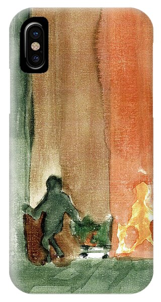 In The Shadows Phone Case by Harry Richards