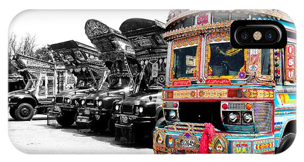 Indian Truck IPhone Case