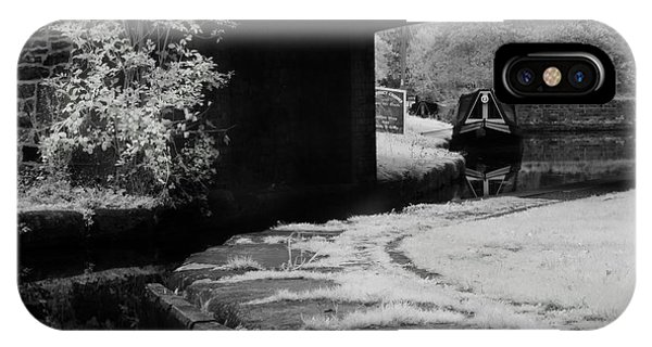 Infrared At Llangollen Canal IPhone Case