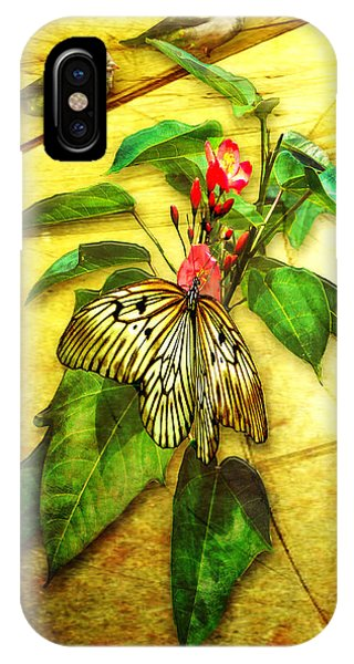 Insect - Butterfly - Sparrow - Happy Summer  IPhone Case