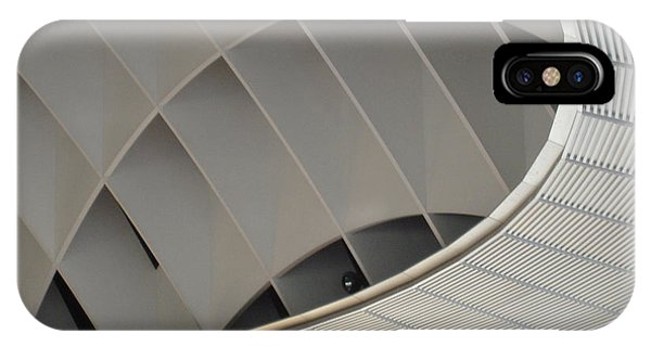 Ceiling iPhone Case - Inside Fuji Building by Naxart Studio