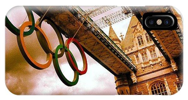 London Bridge iPhone Case - Instagram Photo by Elizabeth Roach